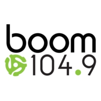 Logo of radio station CFHI-FM boom 104.9