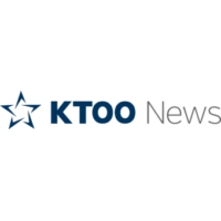 Logo of radio station KTOO News 104.3 FM