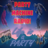 Logo of radio station PARTY MACHINE RADIO