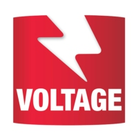 Logo of radio station Voltage