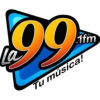 Logo of radio station XHMOR-FM La 99