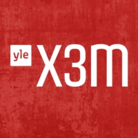 Logo of radio station YLE - X3M