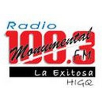 Logo of radio station Monumental 100.3 FM