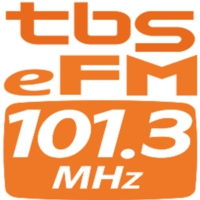 Logo of radio station TBS eFM 101.3