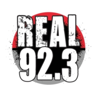 Logo of radio station KRRL Real 92.3