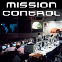 Logo of radio station SomaFM: Mission Control