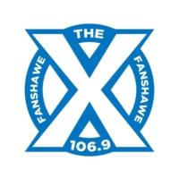 Logo de la radio CIXX-FM 106.9 The X