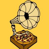 Logo of radio station PIZZAFM