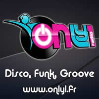Logo de la radio Only1 radio Funk and Disco music