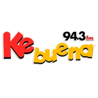 Logo of radio station XHEMG Ke Buena 94.3 FM