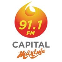 Logo of radio station Capital Máxima 91.1 FM