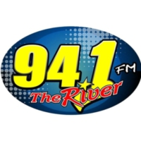 Logo de la radio WFHK 94.1 FM The River