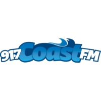 Logo of radio station CKAY 91.7 Coast FM