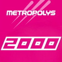 Logo of radio station Metropolys 2000