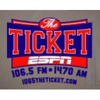 Logo of radio station WLQR ESPN The Ticket 106.5