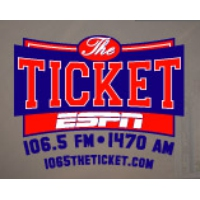 Logo of radio station WLQR ESPN The Ticket 106.5