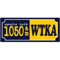 Logo de la radio WTKA Sport talk 1050