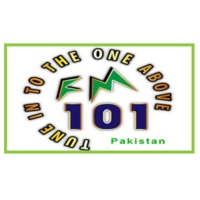 Logo of radio station FM 101 Karachi