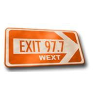 Logo de la radio WEXT EXIT 97.7