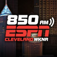 Logo of radio station ESPN 850 Cleveland