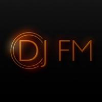 Logo of radio station DJ FM