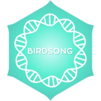 Logo of radio station Positivity Birdsong