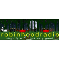 Logo of radio station WHDD Robin Hood Radio