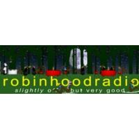 Logo de la radio WHDD Robin Hood Radio