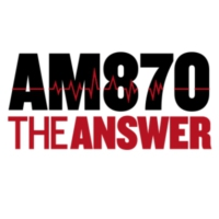 Logo de la radio KRLA AM 870 The Answer