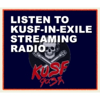 Logo of radio station KUSF in Exile