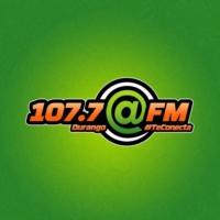 Logo of radio station @FM 107.7 FM