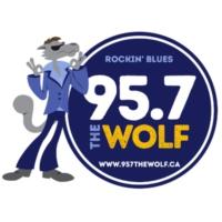 Logo de la radio CKTP-FM 95.7 The Wolf