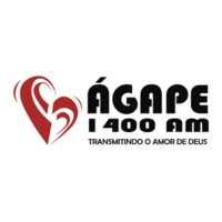 Logo of radio station Rádio Ágape 1400 AM