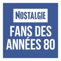 Logo of radio station Nostalgie Fans des Années 80