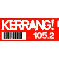 Logo of radio station Kerrang! Radio