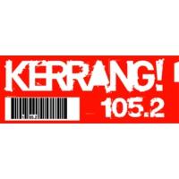 Logo of radio station Kerrang! Radio