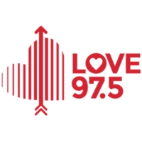Logo of radio station Love Radio 97.5
