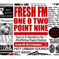 Logo of radio station Fresh FM Namibia