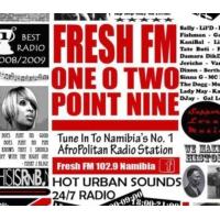 Logo de la radio Fresh FM Namibia