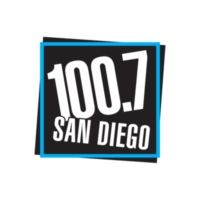 Logo of radio station KFMB-FM 100.7 San Diego