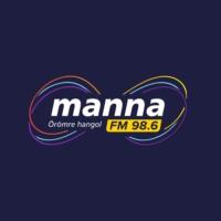 Logo of radio station Manna FM 98.6