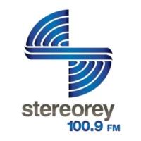 Logo of radio station XHCAA Stereorey 100.9 FM