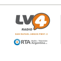 Logo of radio station LV4 Radio San Rafael