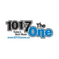 Logo of radio station 101.7 The One