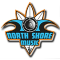 Logo of radio station North shore music fm