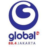 Logo of radio station Global Radio Jakarta