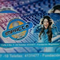 Logo of radio station IMPACTO STEREO 107.9 FUNDACION MAGDALENA