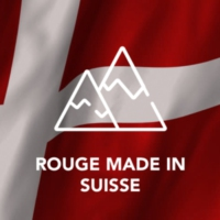 Logo of radio station Rouge Made in Suisse