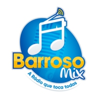 Logo of radio station Rádio Barroso Mix