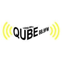 Logo of radio station the QUBE 88.9 FM